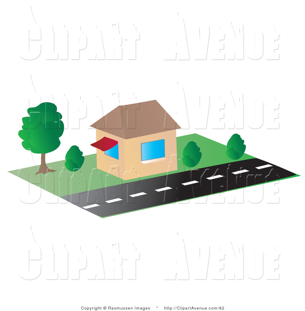Avenue clipart clip freeuse stock Avenue Clipart of a Small | Clipart Panda - Free Clipart Images clip freeuse stock