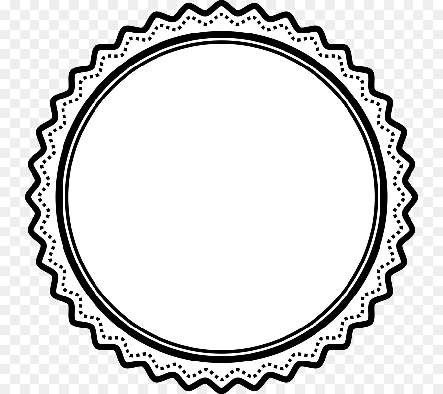 Clipart award seal clip art royalty free stock Black And White Frame png download - 800*800 - Free Transparent ... clip art royalty free stock