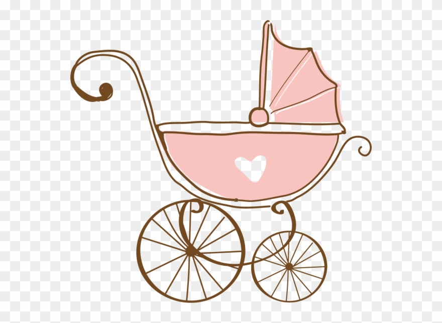 Clipart babies in carriages clip royalty free stock Buggy La Petite Armoire Magazin Online Pentru - Pink Baby Carriage ... clip royalty free stock