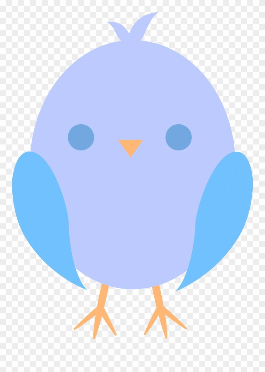 Clipart baby bird vector transparent stock Cute Baby Chicken Clipart - Baby Cartoon Bird Transparent - Png ... vector transparent stock