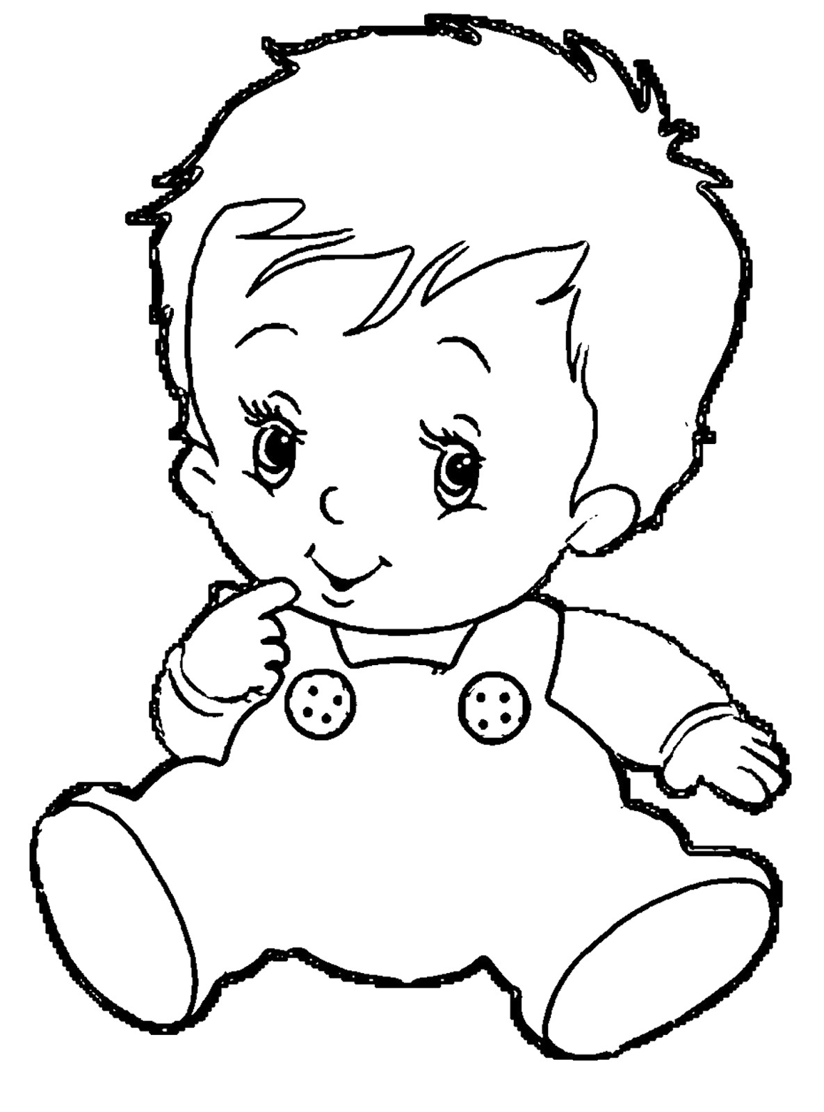 Clipart baby black and white jpg transparent stock Black and white baby clipart 2 » Clipart Station jpg transparent stock