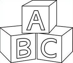Clipart baby blocks vector free download Baby Block Clipart vector free download