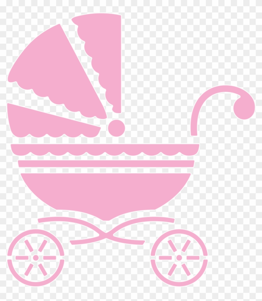 Clipart baby carriage image freeuse download Carreola Baby Shower Png - Pink Baby Carriage Clipart, Transparent ... image freeuse download