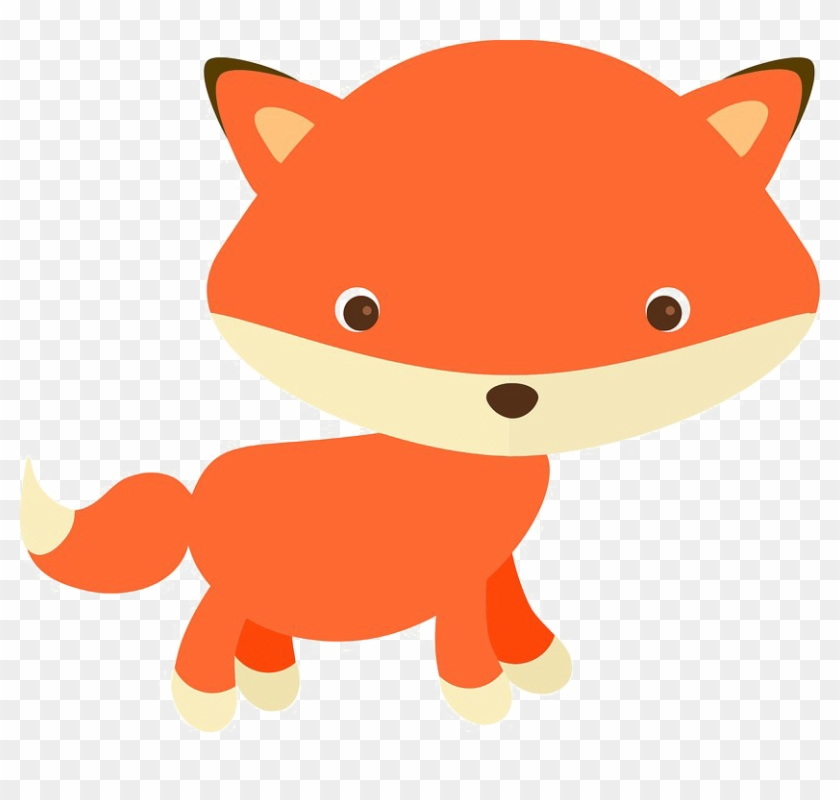 Clipart baby fox clipart black and white library Baby Fox Png Image - Cute Red Fox Clipart, Transparent Png - 832x720 ... clipart black and white library
