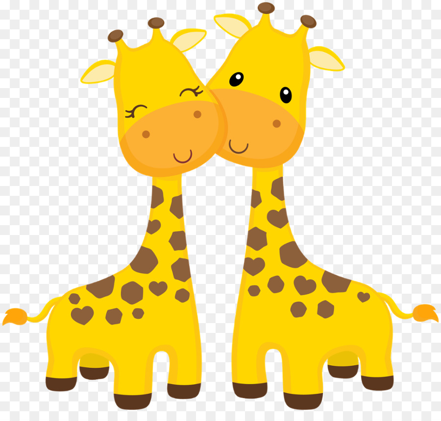 Clipart baby giraffes picture library library Baby Background clipart - Okapi, Giraffe, Yellow, transparent clip art picture library library