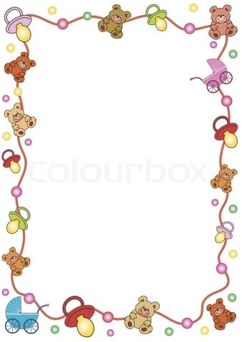 Clipart baby girl borders clipart Borders clipart for baby - ClipartFest clipart