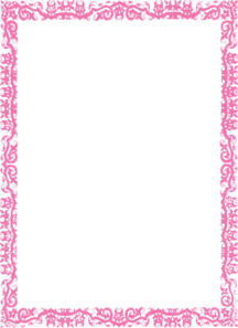 Clipart baby girl borders clip free library Pink Baby Border Clipart - Clipart Kid clip free library
