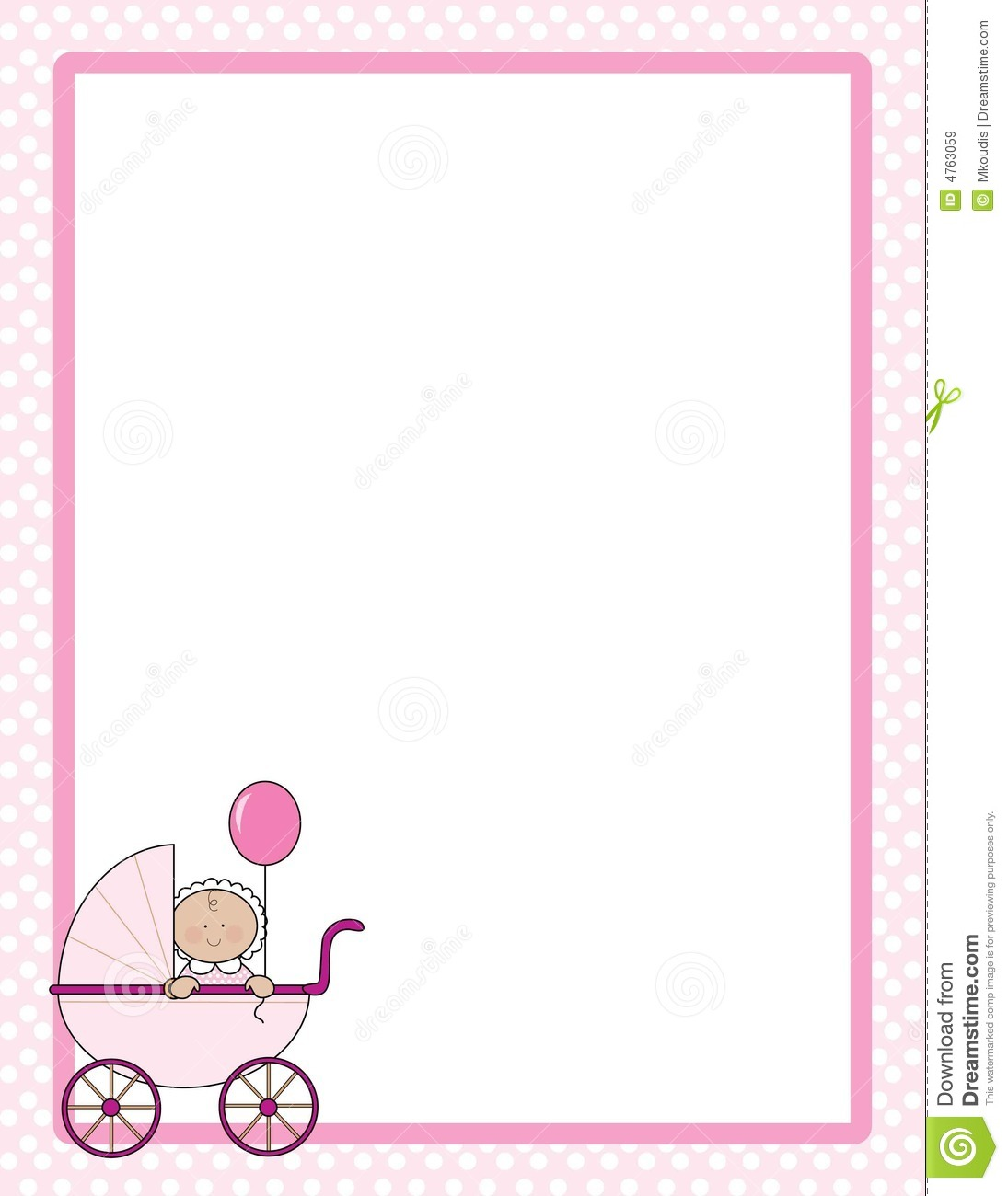 Clipart baby girl borders clipart library download Baby girl clip art border - ClipartFest clipart library download