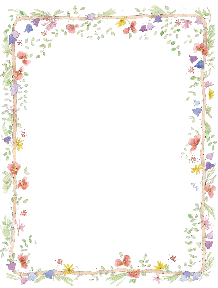 Flower border free clipart picture stock Borders Transparent PNG Pictures - Free Icons and PNG Backgrounds picture stock