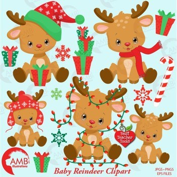 Clipart baby reindeer banner freeuse stock Baby reindeer clipart 3 » Clipart Portal banner freeuse stock