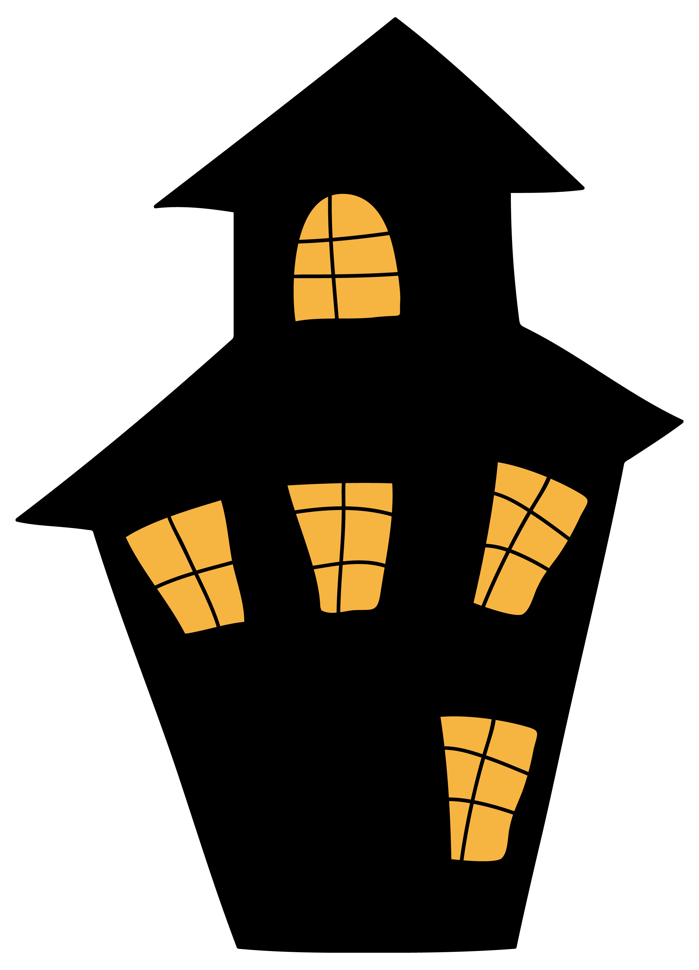 Wood house with chimney clipart vector black and white House Clipart Png. House Clipart Png - Deltasport.co vector black and white