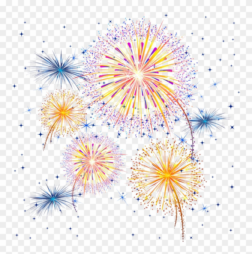 Fireworks background clipart vector library download Fireworks Transparent Background - Transparent Background Fireworks ... vector library download