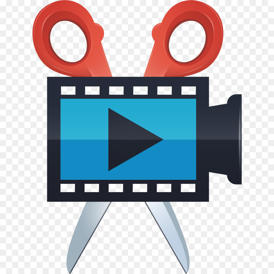 Video editing logo clipart image download Technology Background clipart - Video, Blue, Text, transparent clip art image download