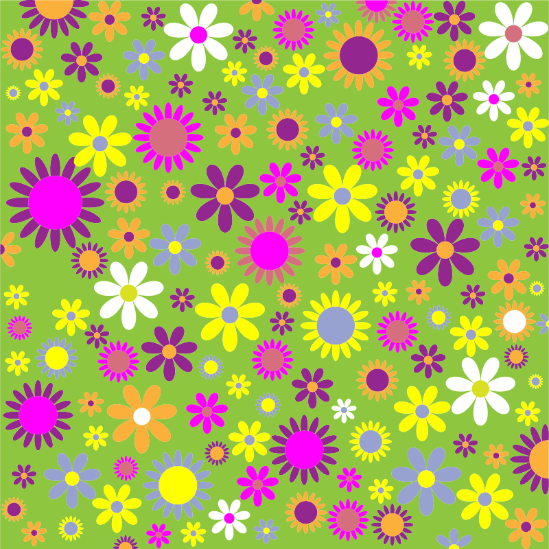 Clipart background patterns freeuse stock Clipart - Colorful Floral Pattern Background 6 freeuse stock