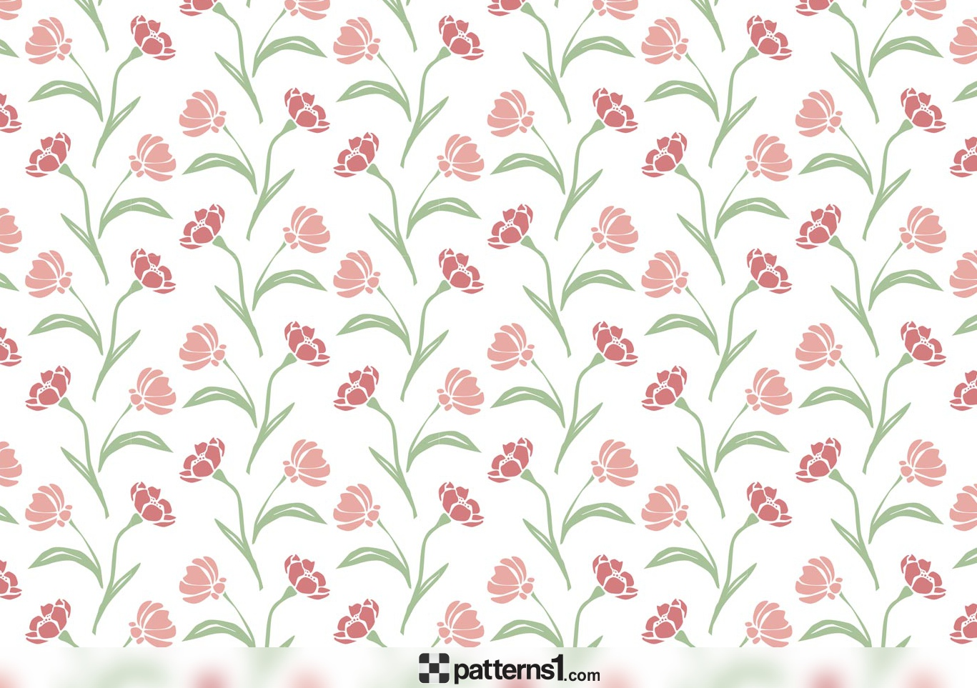 Clipart background patterns svg black and white library Elegant Flowers Clipart Pattern Background | Vector Pattern Design ... svg black and white library