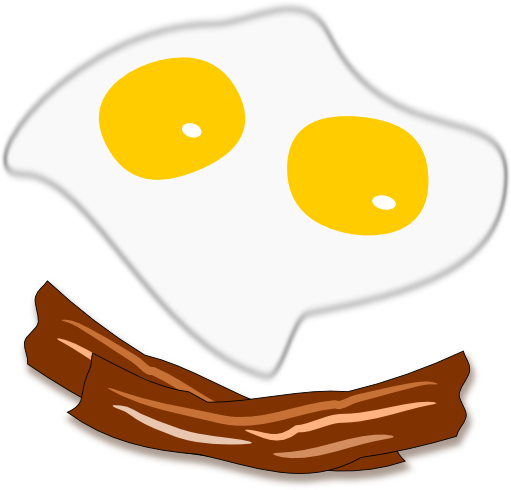 Clipart bacon and eggs banner royalty free download Free Bacon Cliparts, Download Free Clip Art, Free Clip Art on ... banner royalty free download