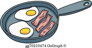 Free clipart eggs and bacon graphic Bacon Eggs Clip Art - Royalty Free - GoGraph graphic