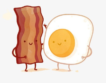 Clipart bacon and eggs jpg library library Bacon And Egg PNG Transparent Bacon And Egg.PNG Images. | PlusPNG jpg library library