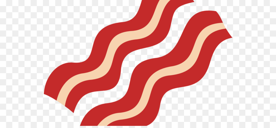 Clipart bacon strips image Bacon Strips Transparent - Clip Art Library image