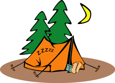 Clipart bad camp image free stock Is it possible to go camping along the Camino de Santiago?   Camino ... image free stock