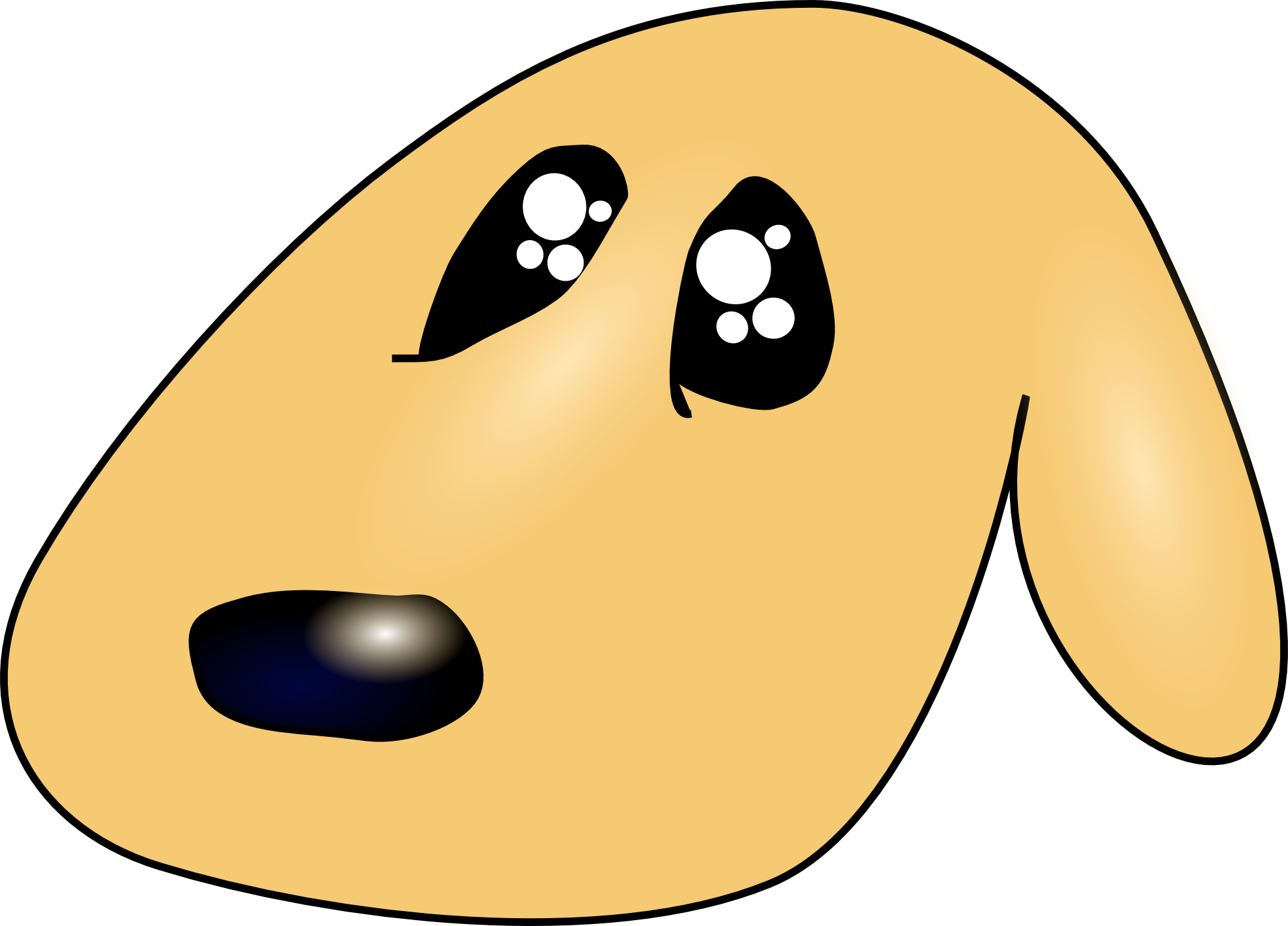 Clipart sad dog graphic transparent download Sad Dog Clipart | Clipart Panda - Free Clipart Images graphic transparent download