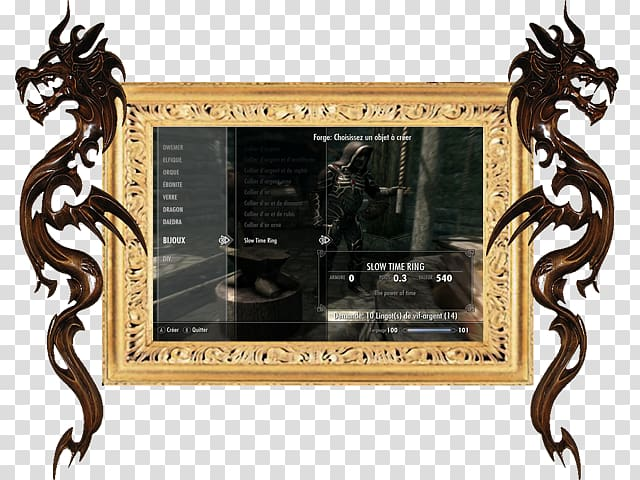 Clipart badet banner royalty free library Frames, Elder Scrolls V Skyrim transparent background PNG clipart ... banner royalty free library