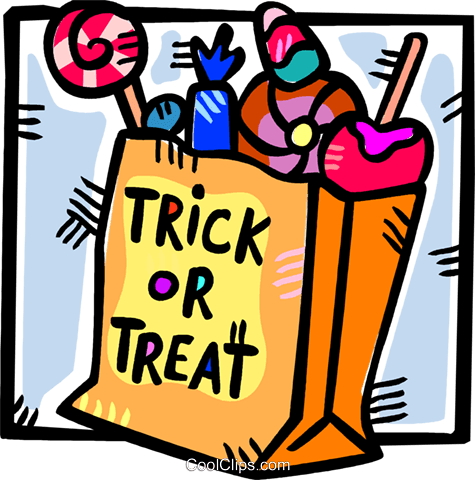 Clipart bag of tricks png free download bag Halloween candies Royalty Free Vector Clip Art illustration ... png free download