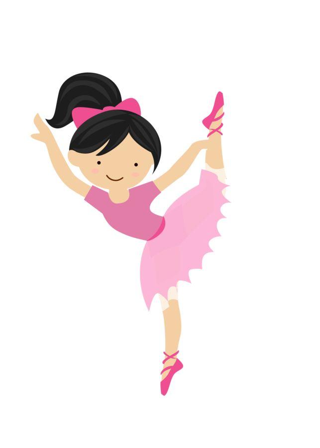 Clipart bailarina clip freeuse stock Bailarina - Clip Art Library clip freeuse stock