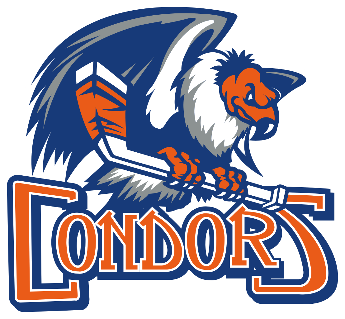 Clipart bakersfield graphic royalty free stock Bakersfield Condors Full Logo transparent PNG - StickPNG graphic royalty free stock