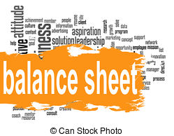 Clipart balance sheet clipart freeuse download Clip Art of Annuity word cloud with orange banner image with hi ... clipart freeuse download