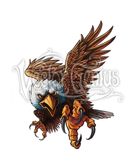 Clipart bald eagle banner library Patriotic Bald Eagle Clip Art banner library