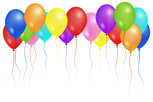 Clipart balloon clusters banner transparent library Pin by Kimberly Higgs-Archer on Birthday clipart | Art images, Clip ... banner transparent library