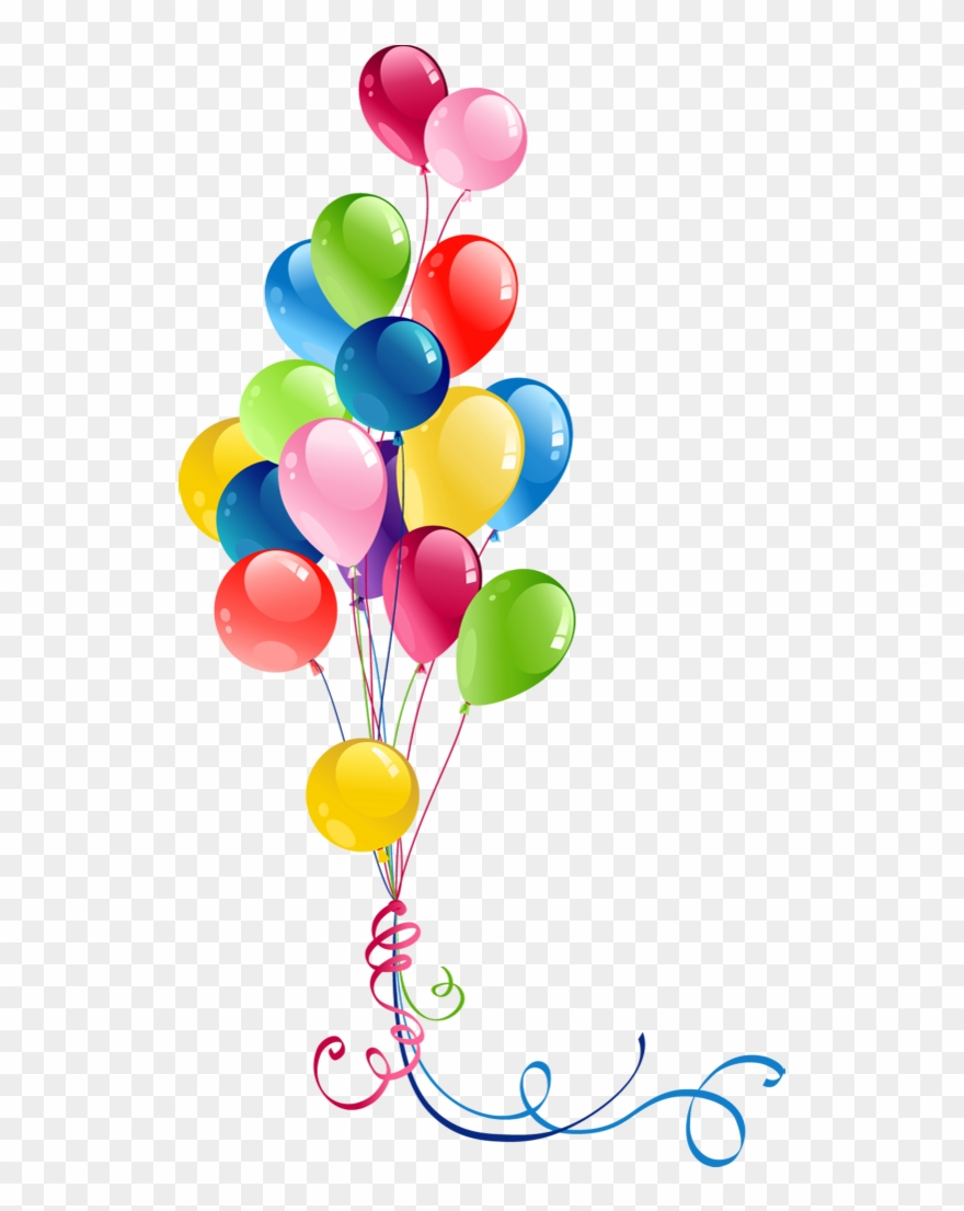 Clipart balloon images banner transparent library Transparent Bunch Balloons Clipart - Balloon Png (#2936) - PinClipart banner transparent library
