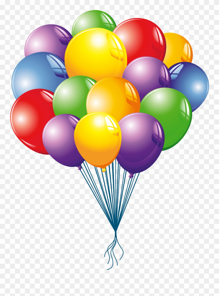 Clipart balloon images picture royalty free library Top 63 Balloons Clip Art - Bunch Of Balloons Clipart Free - Png ... picture royalty free library