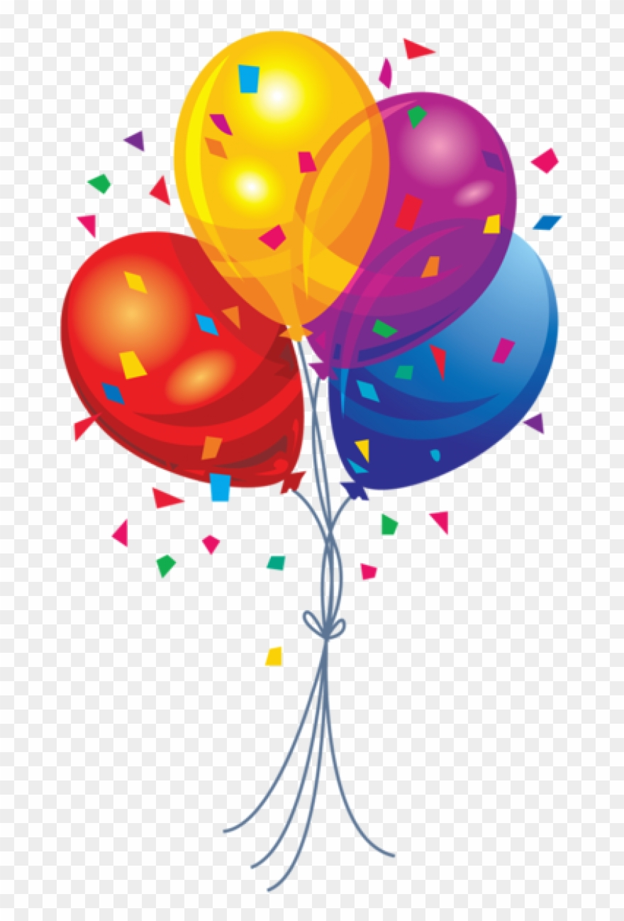 Clipart balloons celebration banner free library Permalink To Birthday Ballons Clipart - Balloon Png Transparent Png ... banner free library