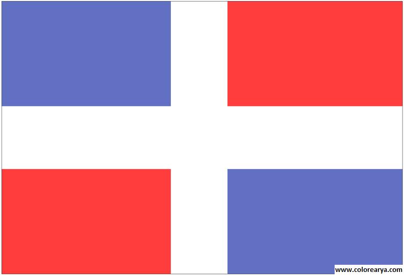 Clipart bandera para colorear clip art free download Dibujos para colorear y pintar para los niños clip art free download