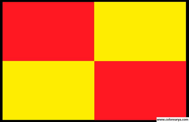 Clipart bandera para colorear clip library stock Dibujos para colorear y pintar para los niños clip library stock