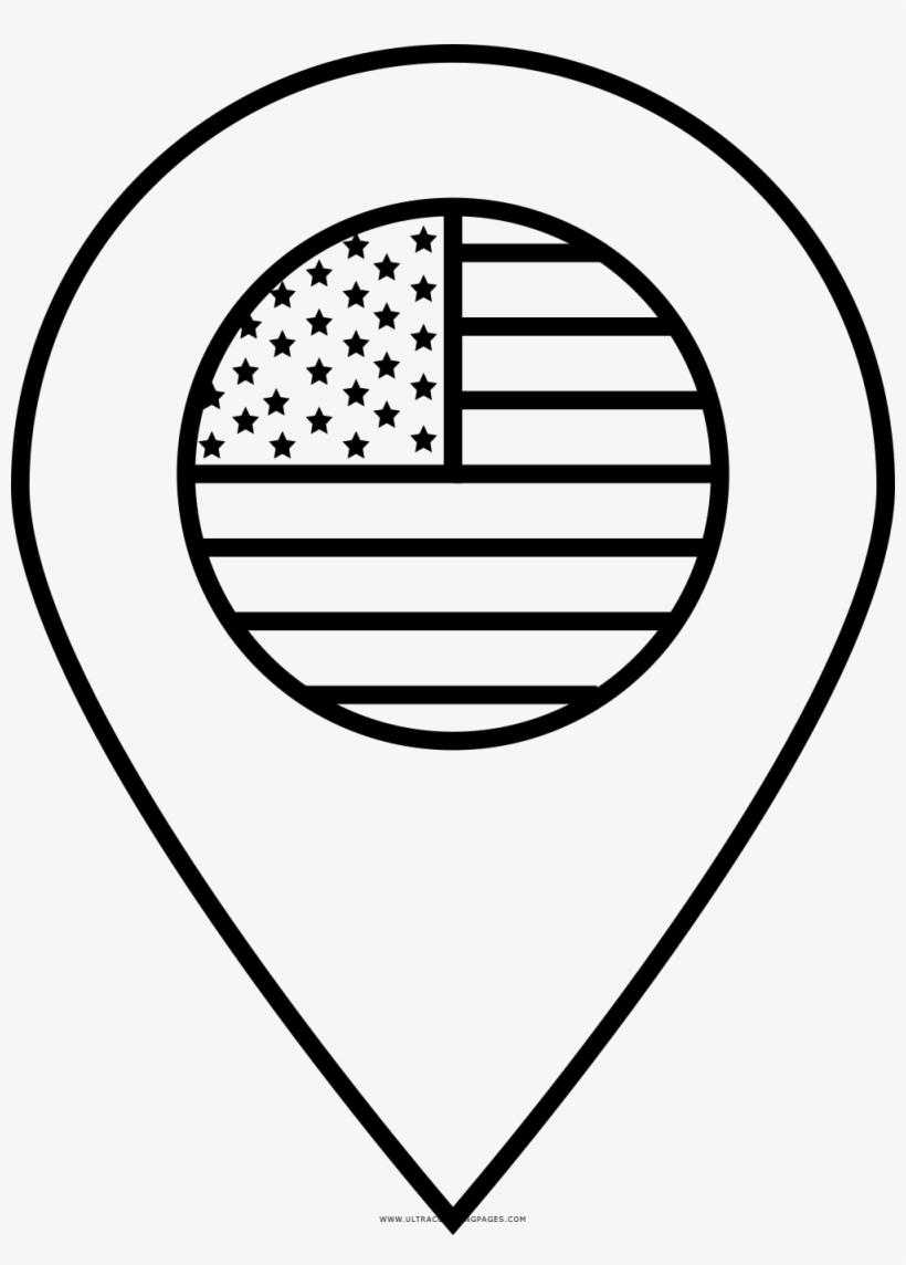Clipart bandera para colorear picture black and white download Bandera De Estados Unidos Página Para Colorear - Top Of Bbq Grill ... picture black and white download