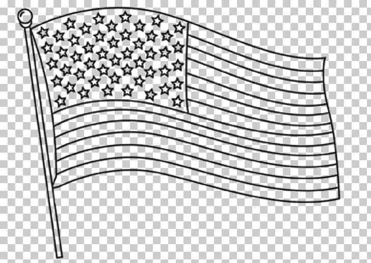 Clipart bandera para colorear