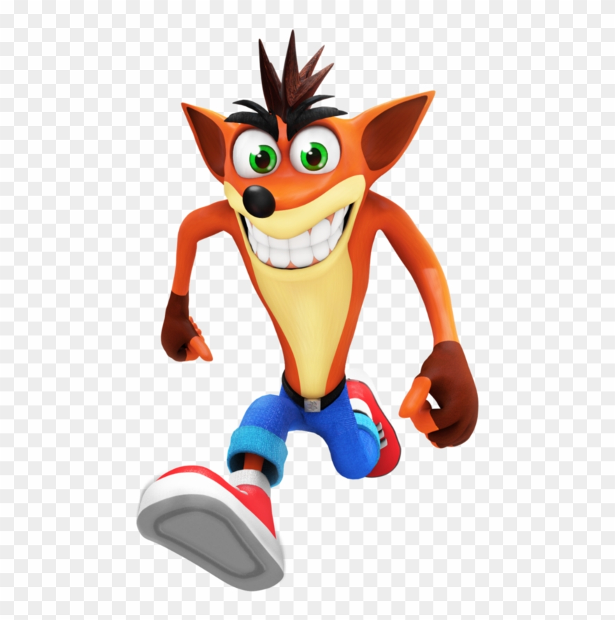 Clipart bandicoot png black and white library Crash Bandicoot Clipart Victory Dance - Png Download (#2593407 ... png black and white library