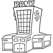 Clipart bank jpg library Bank- Loan Clipart - Clipart Kid jpg library