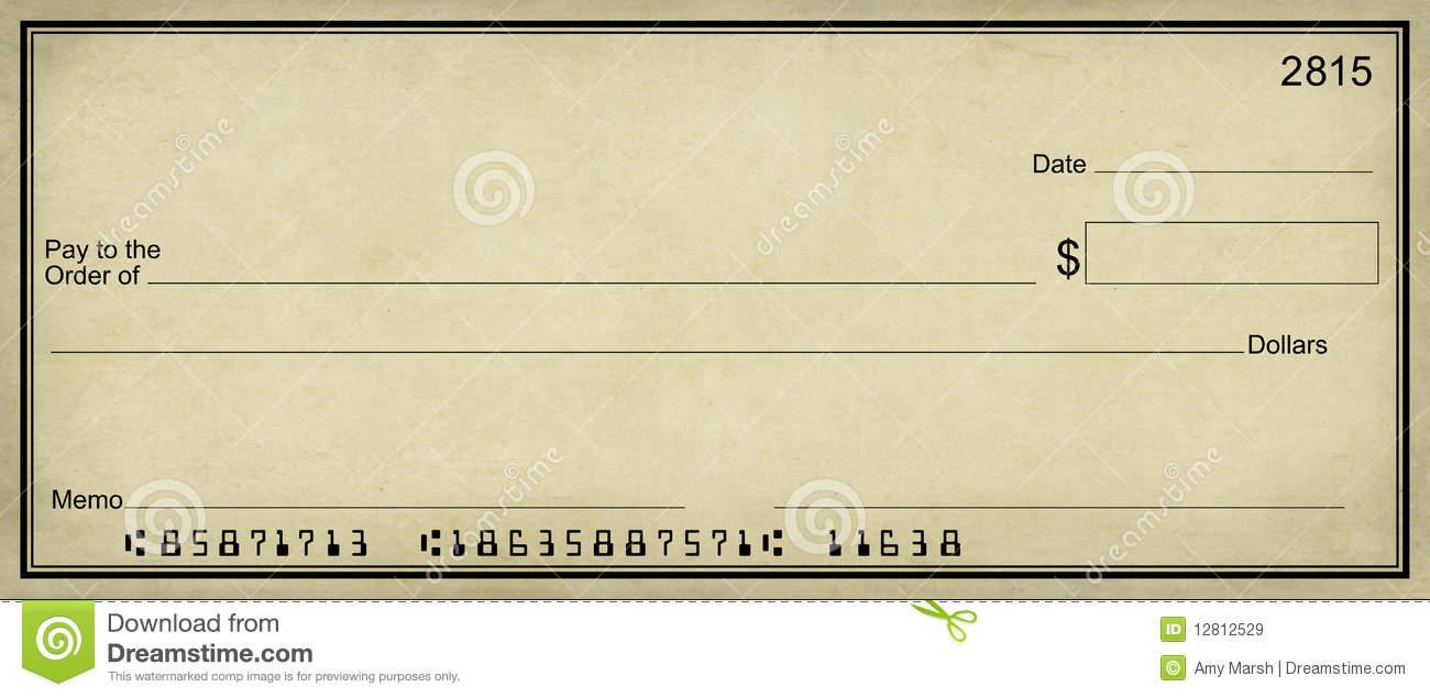 Clipart bank check. Blank clip art the