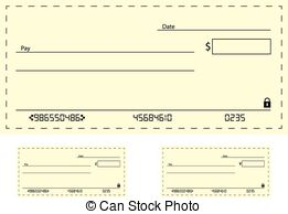 Clipart bank check. Cheque clip art and