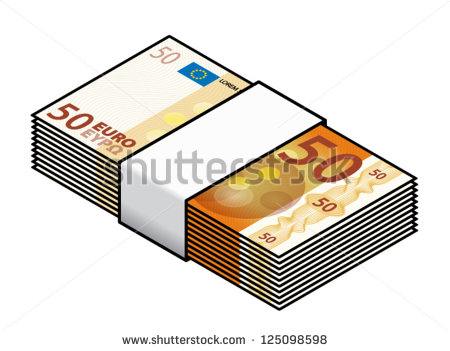 Clipart bank notes picture library stock bundle Of Bank-notes