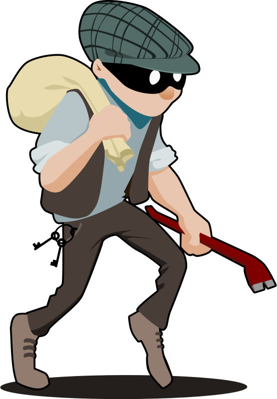 Clipart bank robber. Lessons to learn from