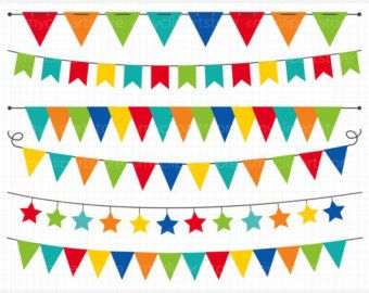 Party flag clipart vector black and white library Free download Birthday Party Banner Clipart for your creation ... vector black and white library