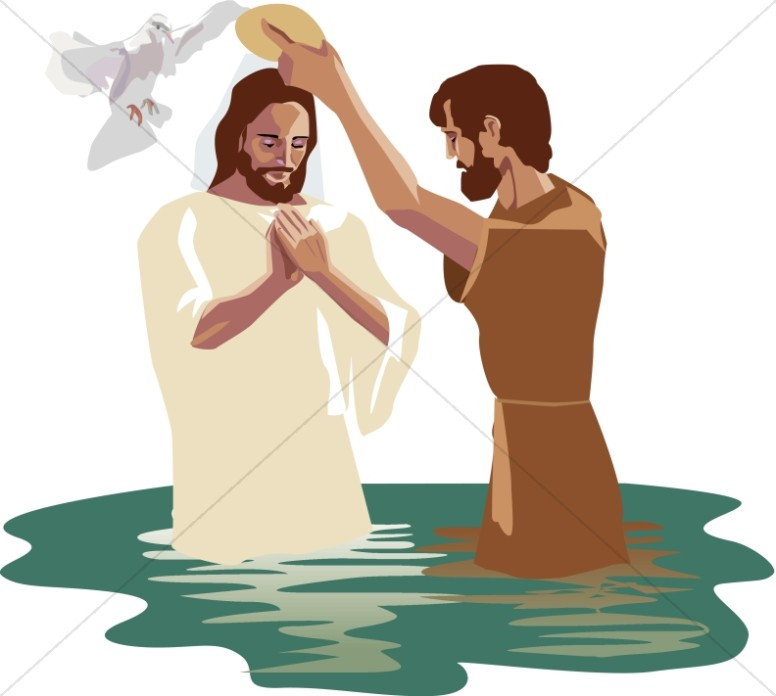 The baptism of jesus clipart graphic transparent library Baptism of the Lord Images, Baptism of Jesus Clipart - Sharefaith graphic transparent library