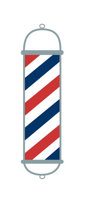 Clipart barber pole png freeuse stock Free Barber Pole, Download Free Clip Art, Free Clip Art on Clipart ... png freeuse stock