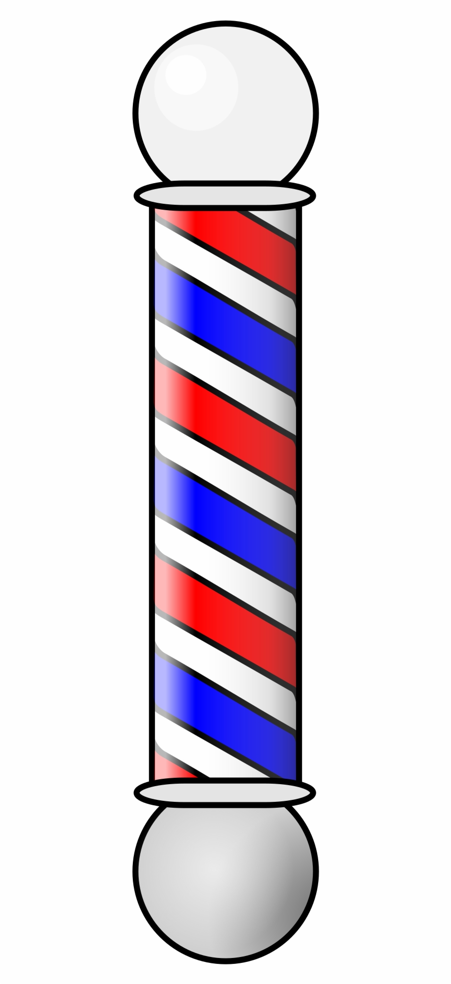 Clipart barber pole picture freeuse stock Vector Freeuse Download Clippers Vector Barber Pole - Barber Shop ... picture freeuse stock