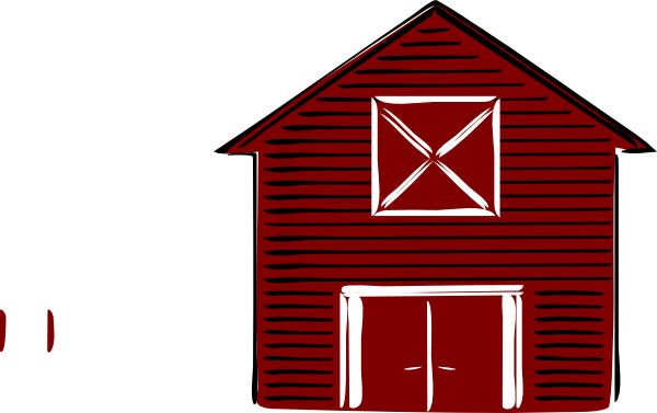 Clipart barn com png black and white stock Beautiful red barn clip art transparent to decorating ideas ... png black and white stock